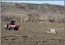 DOE-NETL researchers pulling GEM sled